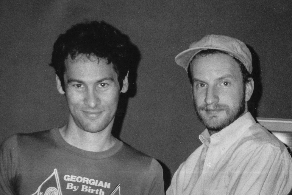 Cliff Martinez and Steven Soderbergh